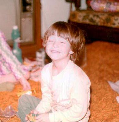 Scott as a child