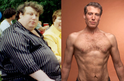 Jon Gabriel's before and after